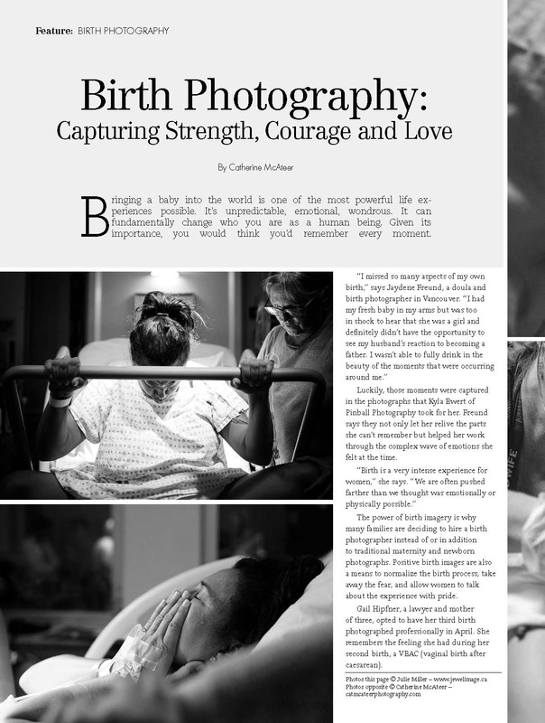 birth photographers, birthing, article